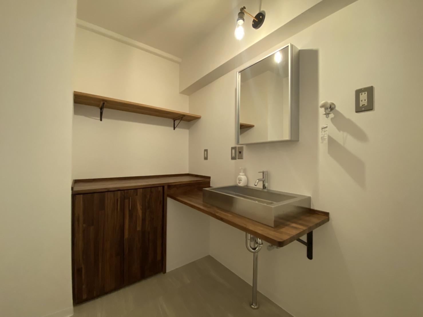 施工事例 洗面スペース